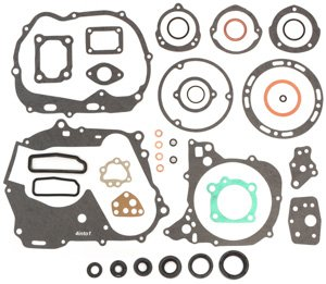 Engine Rebuild Kit - Honda CT90 Trail 90-1966-1979 - Gasket Set + Seals 4into1