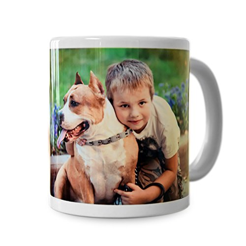 RitzPix Photo Mug Customizable White Ceramic Perfect Personalized Gift - 11 oz. (Personalized Photo Mugs compare prices)