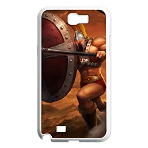 Samsung Galaxy N2 7100 Cell Phone Case White League of Legends Ruthless Pantheon LK1630119