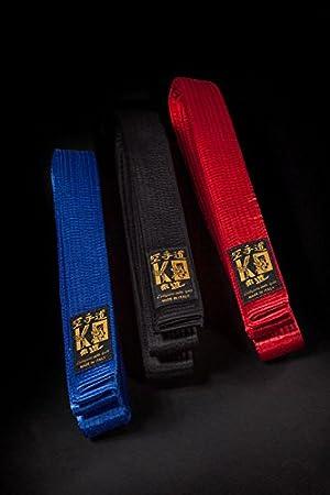 Cintura Maestro in Seta Arti Marziali KO L'artigiano dello Sport