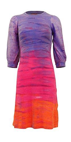 Hardtail Tie-Dye Bubble Sleeve Dress (Hardtail Tie Dye)