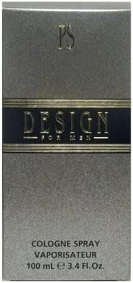 Design By Paul Sebastian For Men. Cologne Spray 3.4 Oz.