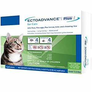 EctoAdvance Plus for Cats (3 Doses) 47