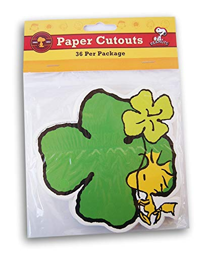 Eureka Woodstock St. Patrick's Day Shamrock Paper Cut-Outs