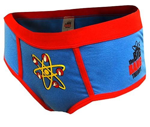 (The Big Bang Theory Rock Paper Scissors Hipster Panty for women (Large) )