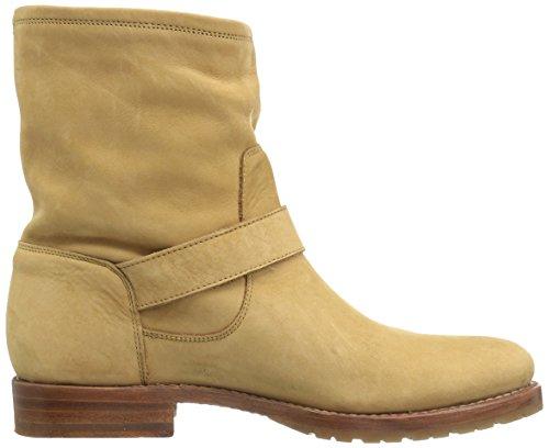 Frye Womens Natalie Short Engineer Boot Sand