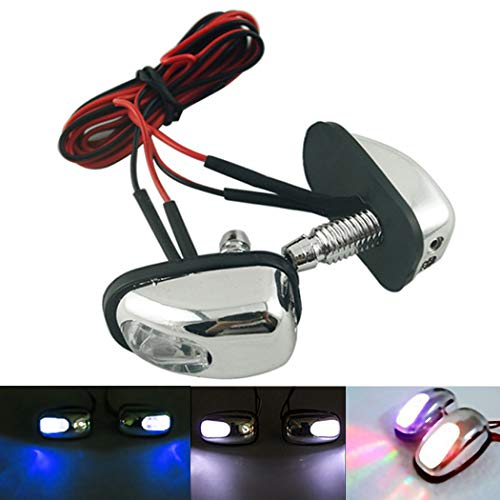 Fansport 2PC LED Washer Nozzle 12V Windshield Washer Spray Nozzle: Sports & Outdoors