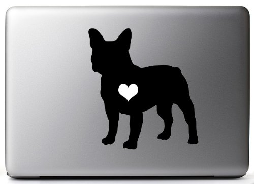french bulldog decal for mac - 6
