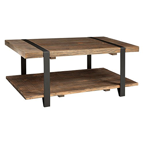 Alaterre Modesto Rustic Coffee Table – For Sale