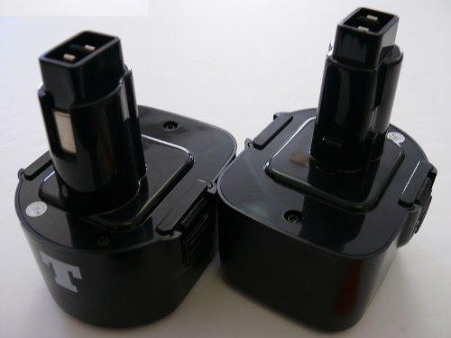 2 x Titan 12v 3000mAh NiMh Battery for Dewalt DW9071 DW9072 DC9071 DE9037 DE9071 DE9072 DE9074 DE9075 152250-27 397745-0