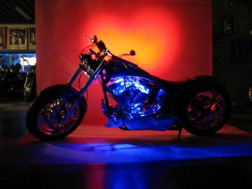 PURPLE LED Neon Motorcycle Lighting Kit