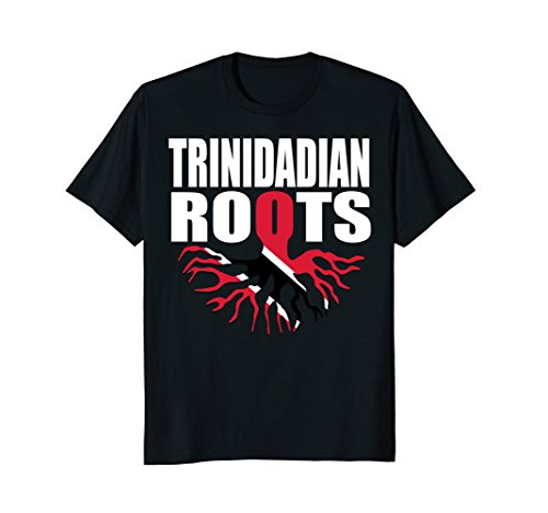 Mens Storecastle: Trinidadian Roots Trinidad and Tobago T-Shirt 3XL Black (Trinidad Colors Flag)