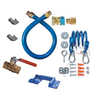 Conector de gas T de lat/ón con abrazadera de manguera de acero inoxidable ajustable conector de p/úas de 3 v/ías para la l/ínea de combustible en forma de T para combustible