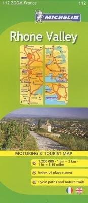 Michelin Rhone Valley[MAP-MICHELIN RHONE VALLEY][Folded Map]