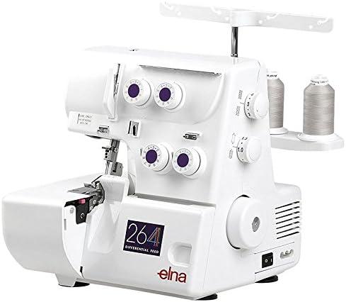 Elna – Máquina de coser overlock Modelo 264 con Roll dobladillo ...