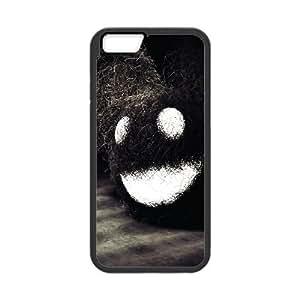 iPhone 6 4.7 Inch Cell Phone Case Black Dark Happy Face OJ633334