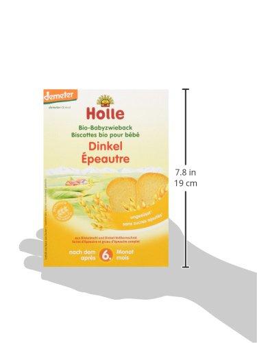Holle Tostadas de Espelta - Paquete de 6 x 200 gr - Total: 1200 gr: Amazon.es: Alimentación y bebidas