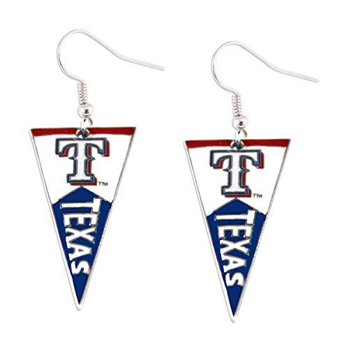 texas rangers earrings - 5