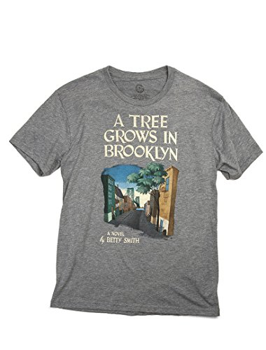 Out of Print Men's A Tree Grows in Brooklyn T-Shirt Large Heather Gray