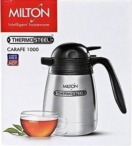 STH Milton Thermosteel 24 Hours Hot and Cold Classic Kettle,1000ml(Silver)