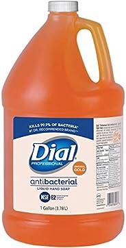 Dial Gold Antibacterial Liquid Hand Soap, 1 Gallon Refill Bottle