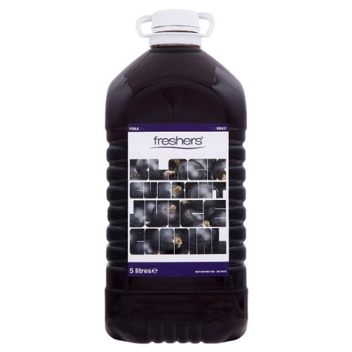 Freshers Blackcurrant Juice Cordial 5 Litres (Pack of 2 x 5ltr)
