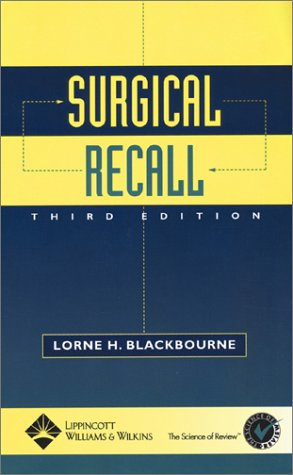 Surgical Recall by Brand: Lippincott Williams n Wilkins