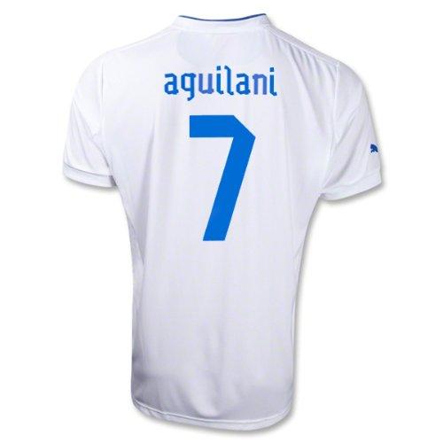 AQUILANI # 7 ITALIA AWAY JERSEY 2013 (XL)