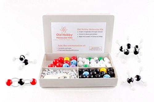 organic-chemistry-model-kit-125-pieces-chemistry-set-molecular-model-kit-atoms-and-bonds-with-instru