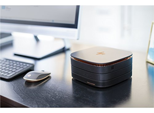 HP Elite Slice 2.5GHz i5-6500T USFF Negro PC - Ordenador de sobremesa (2,5 GHz, 6ª generación de procesadores Intel® CoreTM i5, i5-6500T, 8 GB, 256 GB, ...