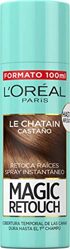 🥇 L'Oréal Paris Magic Retouch Spray Retoca Raíces Castaño 100 ml