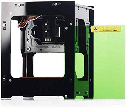 ZHFF Máquina De Grabado Láser Plotter De Impresión Mini Máquina De Marcado De Escritorio Pequeña 1000 MW Máquina De Grabado Láser Portátil Manualidades para El Hogar DIY Mini Grabado De Impresión: Amazon.es: