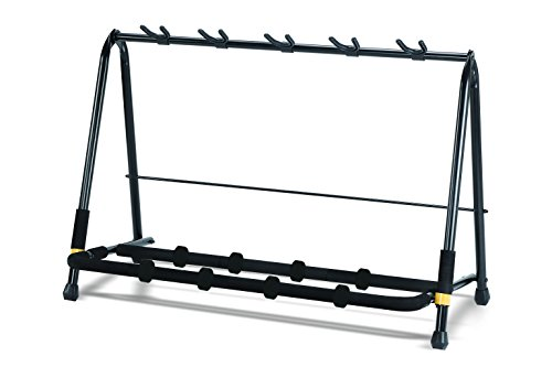 Hercules GS525B 5-Piece Guitar Rack from Hercules