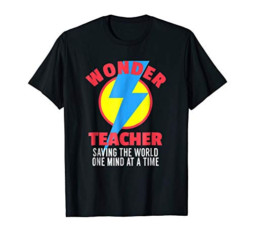 (Wonder Teacher Costume Shirt | Teacher Halloween Costume)