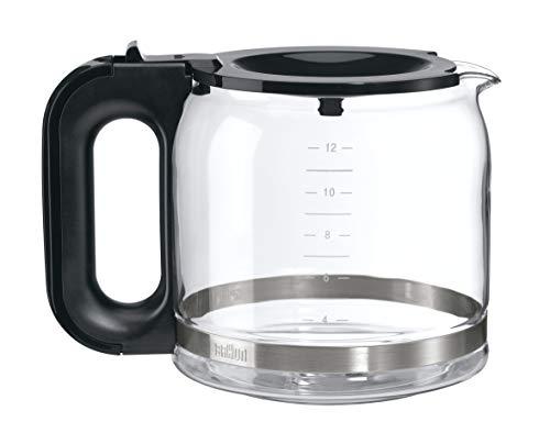Braun BRSC005 Replacement Carafe for Braun Coffee Maker, Clear (Renewed) (Replacement Braun Carafe)