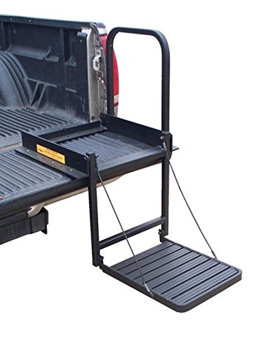 Truck - N - Buddy Tailgate Step Black
