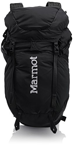Marmot Unisex Ultra Kompressor Black 1 One (Marmot Nylon Backpack)