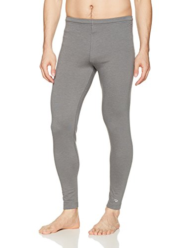 Duofold Men's Heavy Weight Double-layer Thermal Pant, Thundering Gray, Large