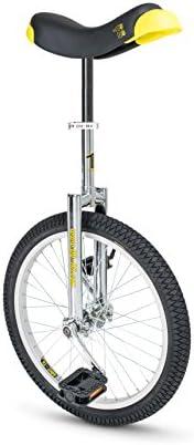 """QU-AX Luxus Unicycle 406 mm (20"""") Chrome, Zoll, ø 51 cm,"""