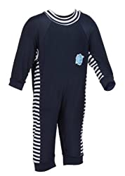 Splash About UV Sun Protection All-in-One Sun Suit/Eczema Suit Apple Daisy, 3-6 Months