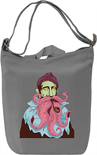 Octopus guy Borsa Giornaliera Canvas Canvas Day Bag| 100% Premium Cotton Canvas| DTG Printing|