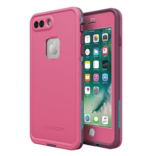 Lifeproof FRĒ SERIES Waterproof Case for iPhone 7 Plus- Retail Packaging - TWILIGHTS EDGE (GRAPE RIOT/PLUM HAZE/LIGHT TEAL BLUE) - Cell Blue Flashlight