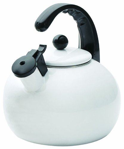 Horizon 2-1/2-Quart Whistling Tea Kettle by Creative Home, (Contemporary Whistle Knobs)