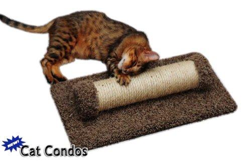 Horizontal Sisal Scratching Post Color: Beige, My Pet Supplies