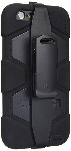 Griffin Black/Black Survivor All-Terrain Case + Belt Clip for iPhone 6 Plus