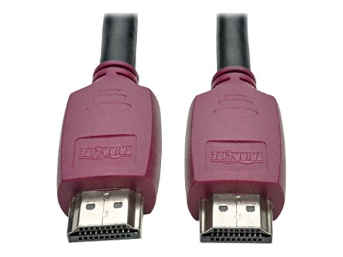 Tripp Lite 10 ft. Premium Hi-Speed HDMI Cable with Ethernet & Grip Connectors (M/M), UHD 4K x 2K @ 60Hz (P569-010-CERT)