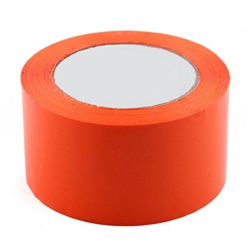 eDealMax Expdition industrielle, PVC, bote de Rangement, Parcels, tanchit Ruban adhsif, 2,4 pouces x 98,4 Yards, Orange