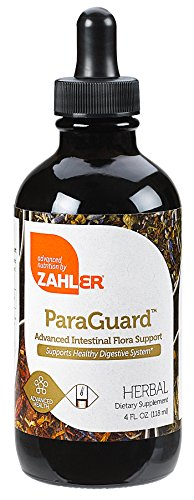Zahler ParaGuard, Advanced Intestinal Support for Humans, Contains Wormwood, Certified Kosher, 4OZ
