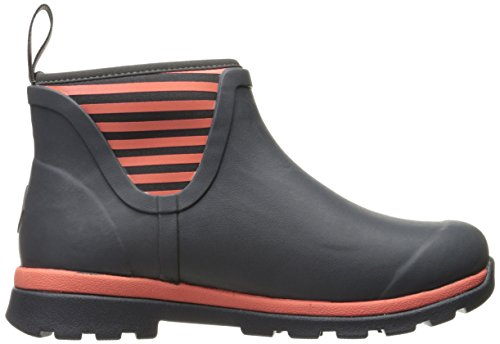 Boot Coral Gray With Muck Women's Ankle Rain Stripe Boots Cambridge Y4BOX8