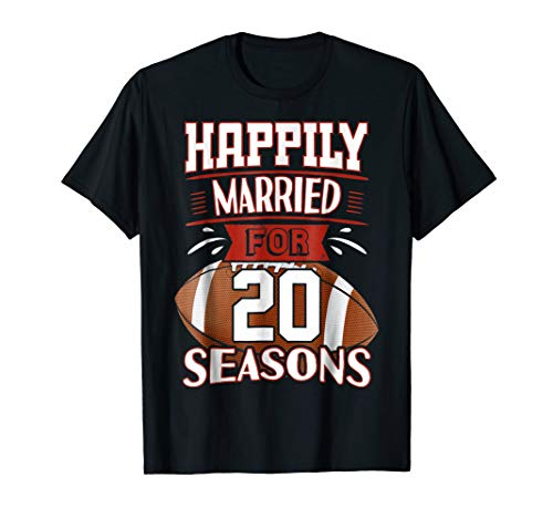 20 Years Marriage TShirt - 20th Anniversary Gift Idea